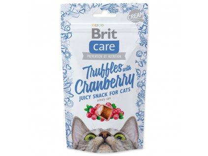 4067 1 brit care cat snack truffles cranberry 50 g