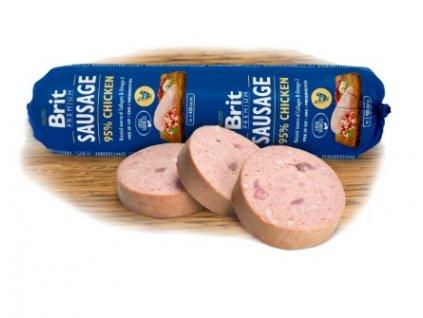 4076 2 brit premium sausage chicken 800 g