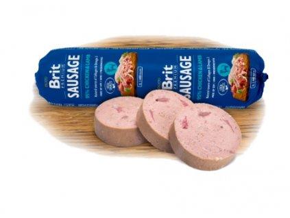 4079 2 brit premium sausage chicken lamb 800 g