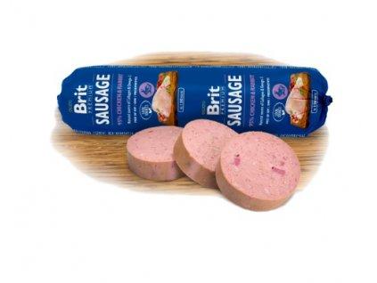 4088 2 brit premium sausage chicken rabbit 800 g