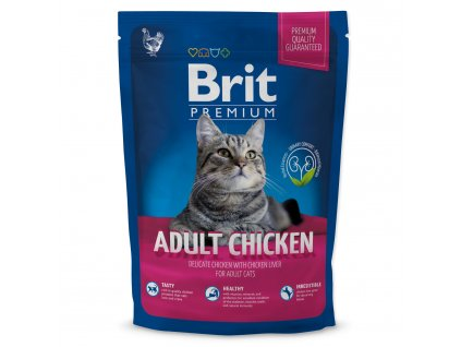 4112 1 brit premium cat adult chicken 800 g