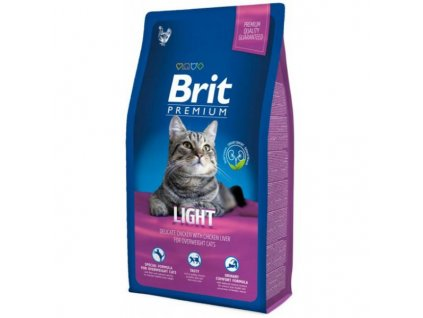 4160 1 brit premium cat light 8 kg