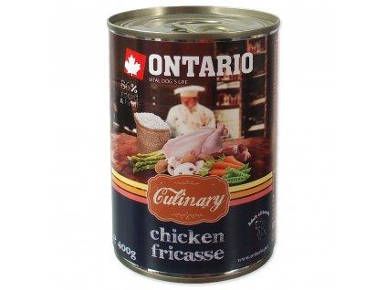 Ontario konzerva Culinary Chicken Fricasse 400g