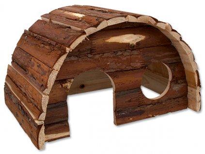 614 1 domek small animal hobit dreveny 36 5 x 22 x 20 cm