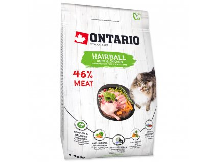 740 1 ontario cat hairball duck chicken 400 g