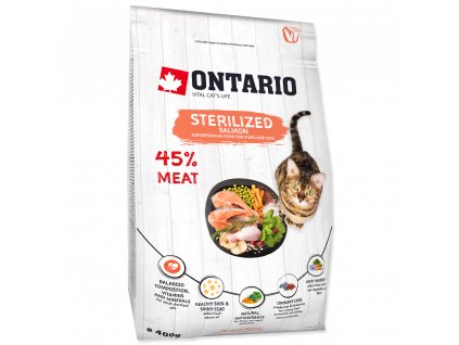 764 1 ontario cat sterilised salmon 400 g