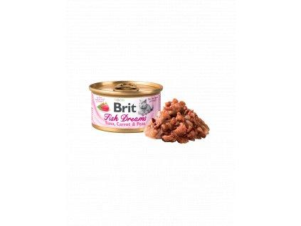 833 brit fish dreams trout tuna 80 g