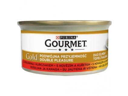 866 1 gourmet gold s hovezim a kuretem 85 g