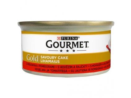 869 1 gourmet gold savoury cake s hovezim a rajcaty 85 g