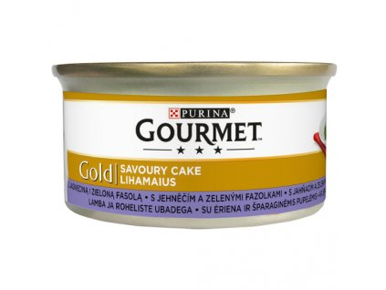 872 1 gourmet gold savoury cake s jehnecim a zelenymi fazolkami 85 g