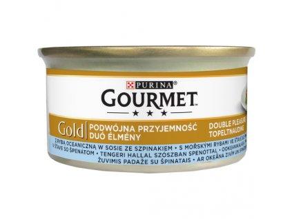 884 1 gourmet gold morska ryba ve stave a spenat 85 g