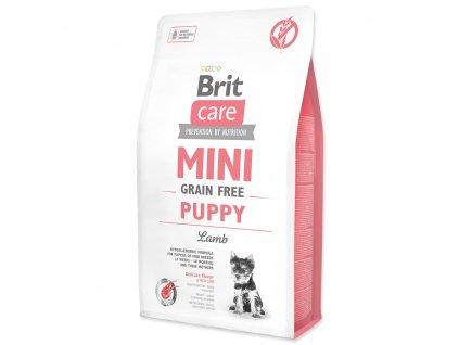 908 1 brit care mini grain free puppy lamb 2 kg
