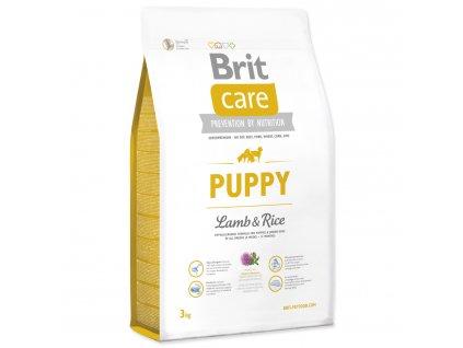 956 1 brit care puppy lamb rice 3 kg