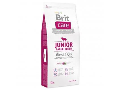 968 1 brit care junior large breed lamb rice 12 kg