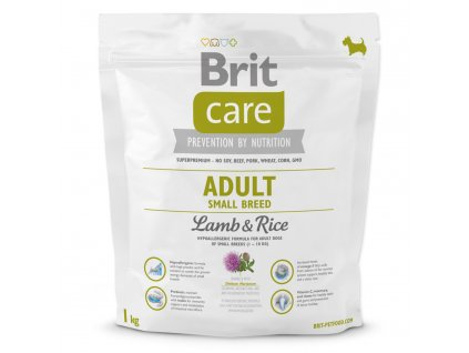 971 1 brit care adult small breed lamb rice 1 kg
