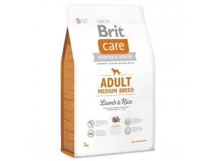 983 1 brit care adult medium breed lamb rice 3 kg