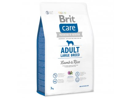 992 1 brit care adult large breed lamb rice 3 kg