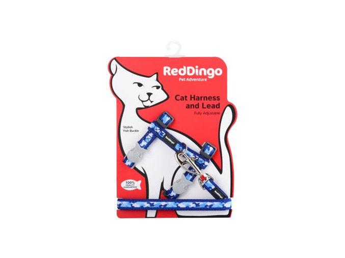 2054 1 postroj red dingo s voditkem pro kocky camouflage navy