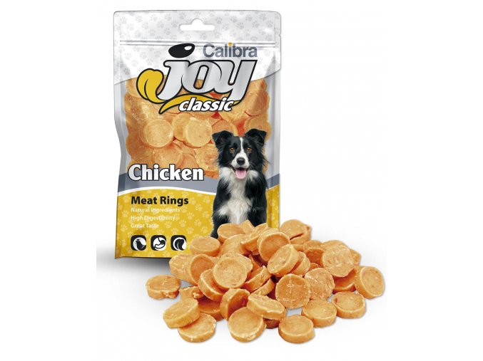 3302 calibra joy dog classic chicken rings 80 g