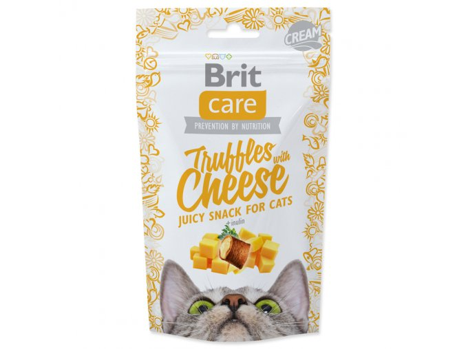 4073 1 brit care cat snack truffles cheese 50 g