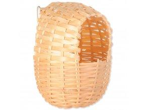 Hnízdo Trixie bambusové (Velikost 12 x 15 cm)