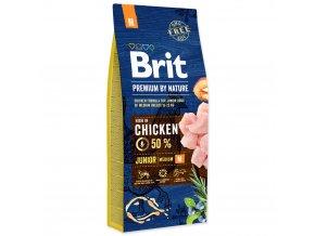 3749 1 brit premium by nature junior m 15 kg