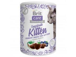 4040 1 brit care cat snack superfruits kitten 100 g