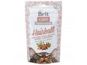 4049 1 brit care cat snack hairball 50 g