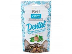 4052 1 brit care cat snack dental 50 g