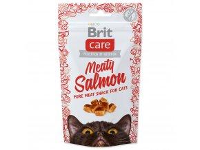 4064 1 brit care cat snack meaty salmon 50 g