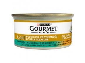 875 1 gourmet gold s kralikem a jatry 85 g