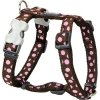 2141 2 postroj red dingo 20 mm x 45 66 cm pink spots on brown
