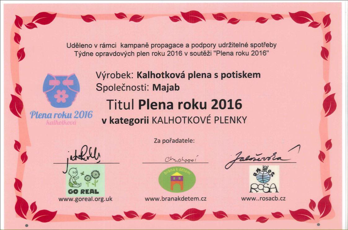 Plena roku 2016