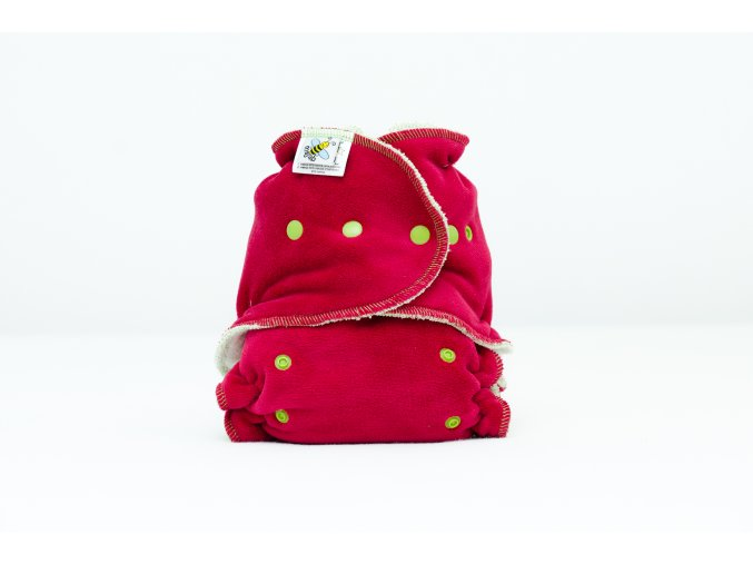 Kalhotková plenka Extra savá noční Tmavě červená /jablíčková/ PAT