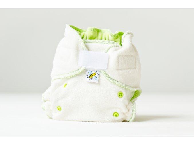 Kalhotková plenka se zvýšenou savostí denní/noční - zelená suchý zip