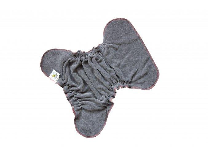 Kalhotková plenka na snappi Antracit/tyrkysová