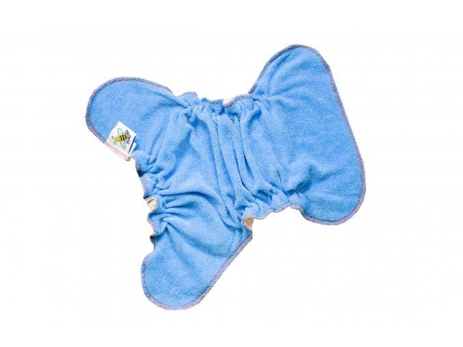 Kalhotková plenka na snappi Tmavý tyrkys/modrá