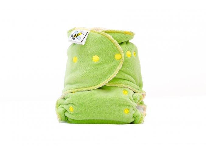 Kalhotková plenka Extra savá noční zelená /žlutá/ PAT