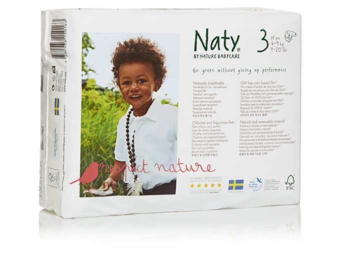 Naty 3 midi nove