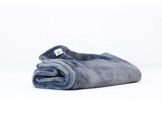 MAJAB Dětská deka Antracitová