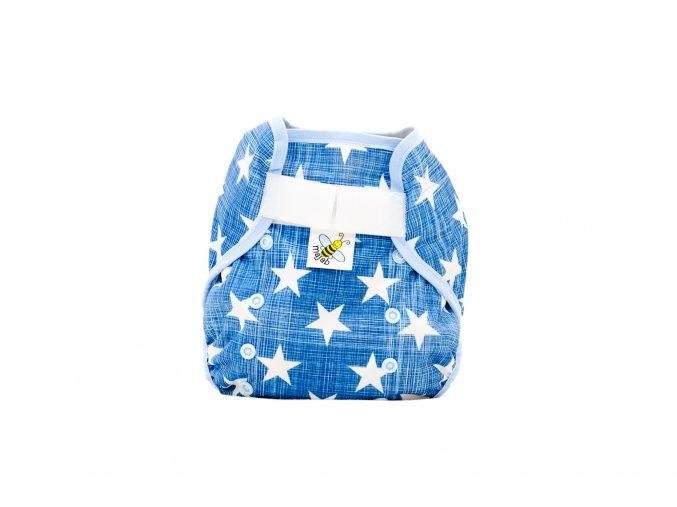 PUL svrchní kalhotky Hvězdičky na modré s kapsami