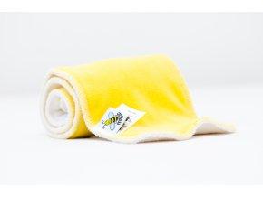 Vkládací plenky - set ke kalhotovkám - Žlutá
