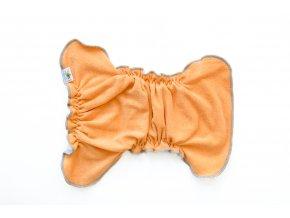 Kalhotková plenka na snappi Medová/modrá
