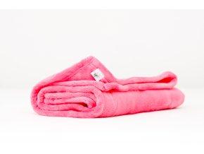 MAJAB Dětská deka Středně růžová