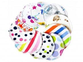Odličovací tampónek Mix vzorů - sada 10ks