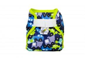 PUL svrchní kalhotky Auta novorozenecké (super air PUL)