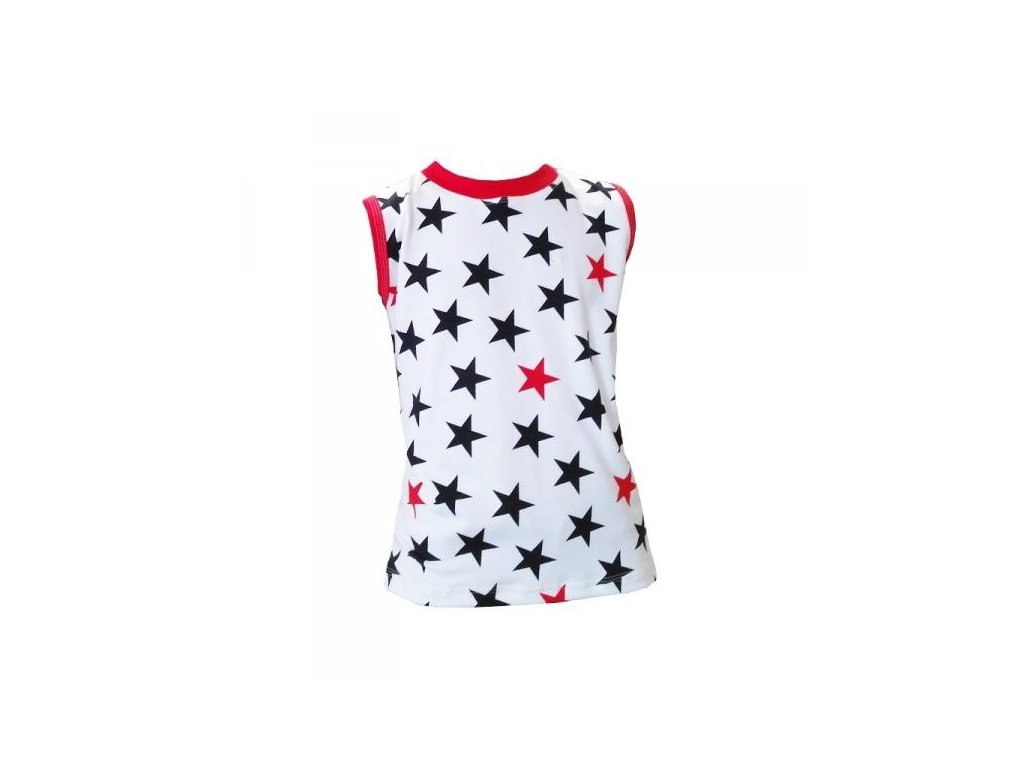 Tričko bez rukávů white star - Farmers