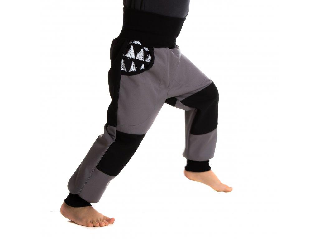 Rostoucí softshellové kalhoty Triangle