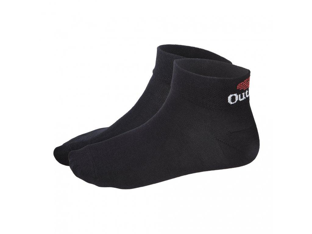 Little Angel Ponožky nízké Outlast® - černá