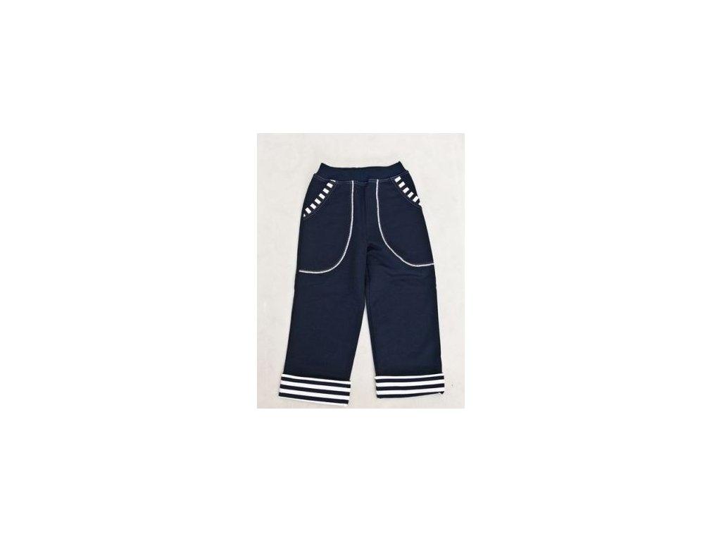 Dětské rostoucí kalhoty NAVY - Farmers